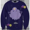 Свитшот-кофта с Принцессой Пупыркой Время приключений (Adventure time)