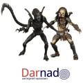 Набор фигурок Хищник против Чужого (Alien vs Predator)