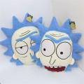 Подушка в виде головы Rick из Рик и Морти