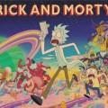 Постер с персонажами Рик и Морти