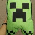 Школьный рюкзак Майнкрафт Крипер (Minecraft Creeper)