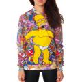Свитшот с Гомером Симпсоном (Simpsons) Пончики