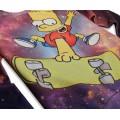 Свитшот с Бартом Симпсоном (Simpsons) Космос