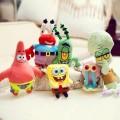 Набор мягких игрушек из мультика Губка Боб (Спанч Боб)