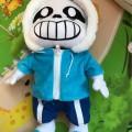 Мягкая игрушка скелет Санс из игры Андертейл \ Undertale