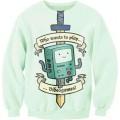 Свитшот-кофта Бимо из Время приключений (Adventure time)