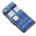Чехол-бумажник Тардис для смартфонов