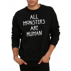 Пуловер All Monsters Are Human