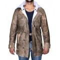 Пальто Бэйна (натуральная кожа)