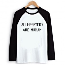 Лонгслив All Monsters Are Human