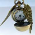 Кулон — часы Золотой снитч