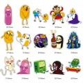 Набор наклеек Adventure Time