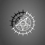 Наклейка пентаграмма