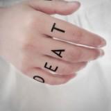 Татуировка Трафальгара Ло (Death)