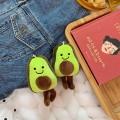 Маленькая мягкая игрушка авокадо