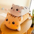 Длинная подушка котик