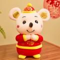 Мягкая игрушка мышка в китайском костюме