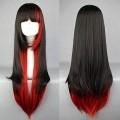 Черно-красный парик Лолита