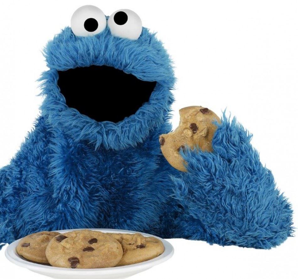 ... Sesame Street  Cookie Monster Buys A Rhyme. Однако предпочтение он  все-таки отдает печенью. Шоколадное — его любимый сорт 12cab2bc0c6e9