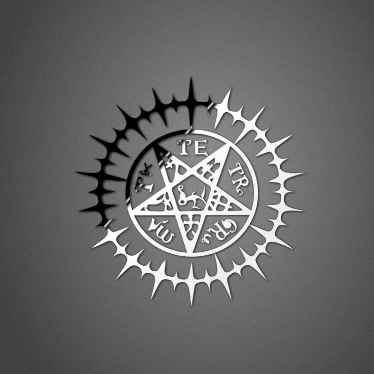 Пентаграмма темного дворецкого фото